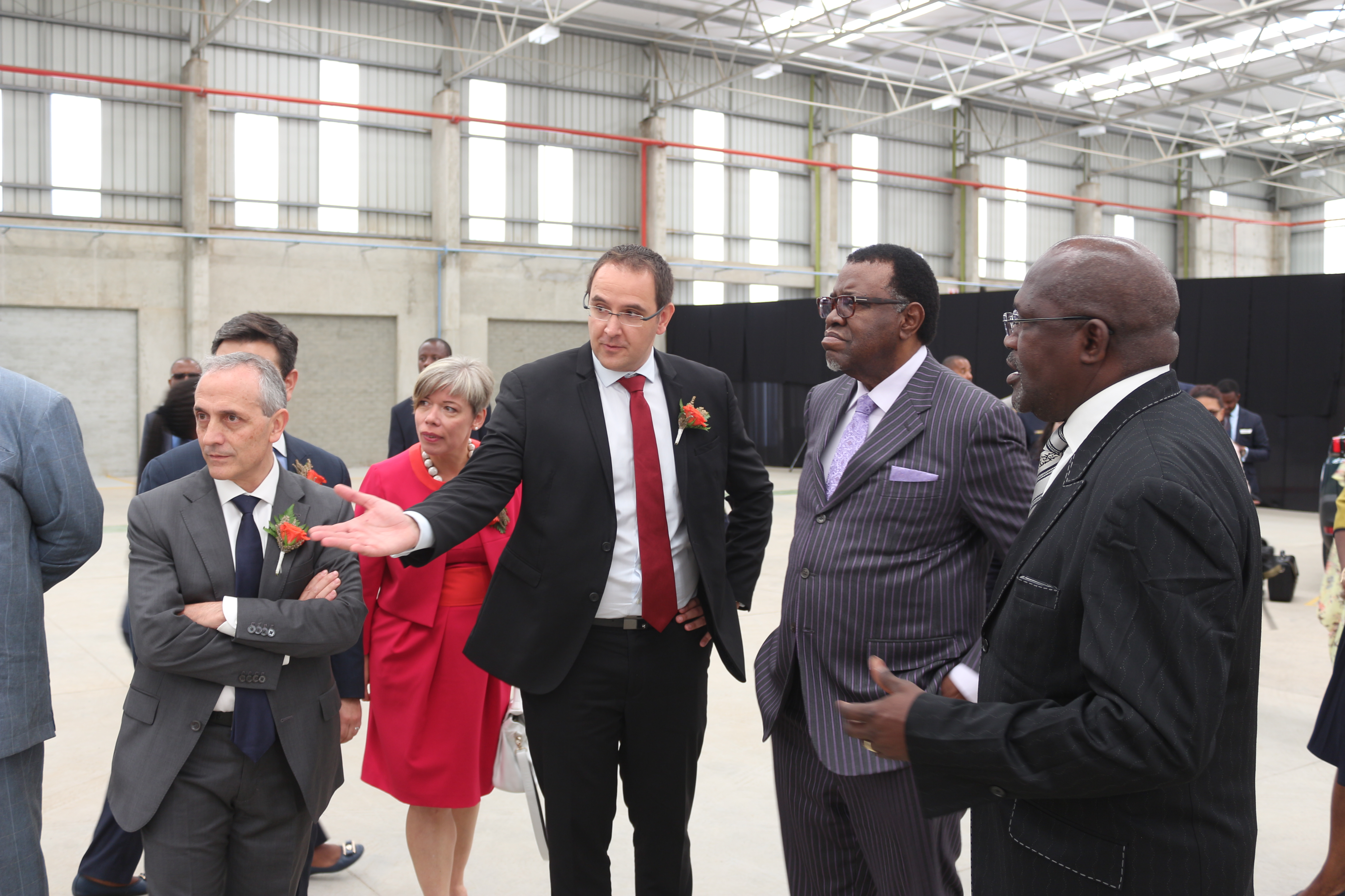 Inauguration of the Peugeot Opel Assembly Namibia (POAN) by his excellency (...)