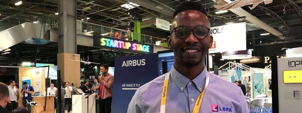 Namibia represented by LEFA at Vivatech Paris
