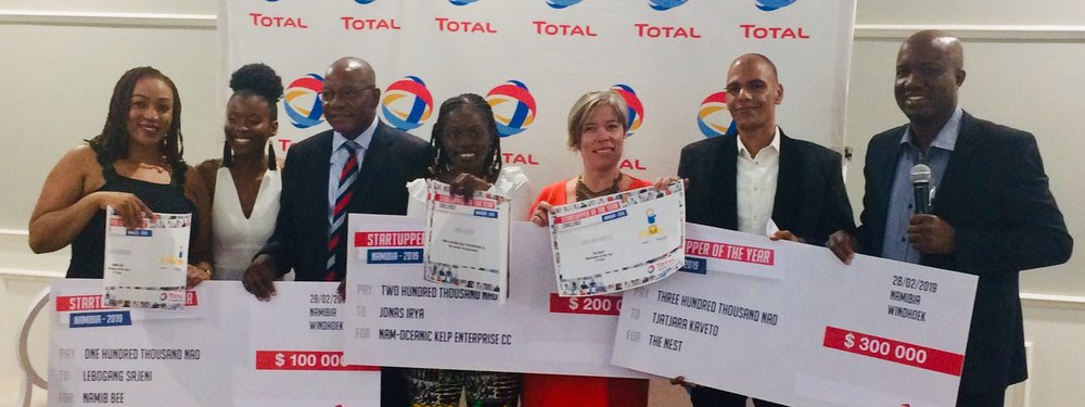 Total Namibia annonce les gagnants de son Startupper of the Year (...)