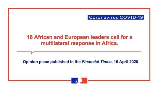 Call by African and European leaders for a multilateral response to the (...)