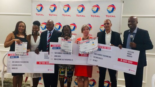 Total Namibia (Pty) Ltd Announces the Winners of the Startupper of the Year (...)