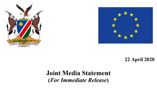 Response to fight the Covid-19 Pandemic in Namibia - EU media (...)