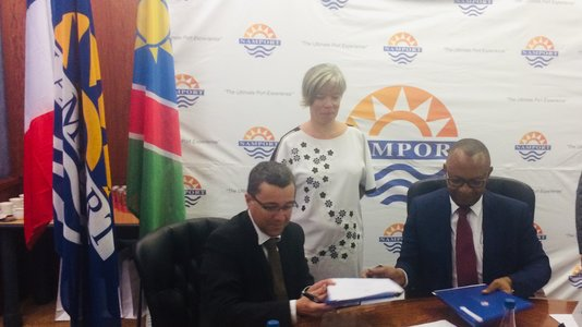 NAMPORT, the Namibian Port Authority signs a cooperation agreement with (...)